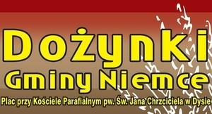 Dożynki Gminy Niemce - 23 sierpnia 2015