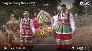 VIDEO - Dożynki Gminy Niemce 2015