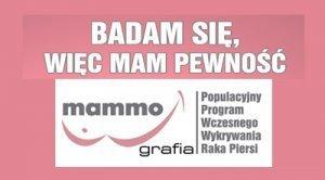 Bezpłatne badania mammograficzne - zaproszenie na badania