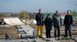 Skatepark w Niemcach wkrótce będzie gotowy