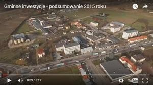 VIDEO - Podsumowanie inwestycji Gminy Niemce w 2015 roku