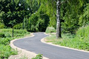 Budowa ścieżki rowerowej w Dysie