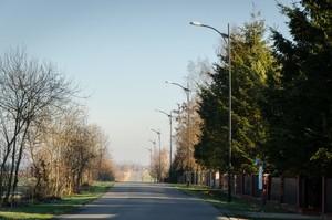 Budowa oświetlenia przy drodze powiatowej nr 2222L w miejscowości Swoboda