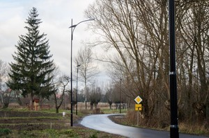 Budowa oświetlenia w miejscowości Łagiewniki