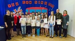 II Gminny Konkurs Piosenki Angielskiej w Rudce Kozłowieckiej