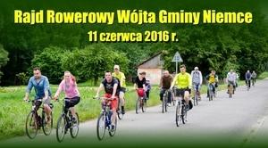 ZAPROSZENIE: na Rajd Rowerowy Wójta Gminy Niemce 2016