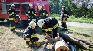 Sobotnie ćwiczenia jednostek OSP z terenu Gminy Niemce