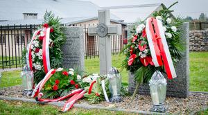 Uroczyste otwarcie zrewitalizowanego cmentarza z I Wojny Światowej w Elizówce