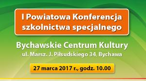 ZAPROSZENIE: na I Powiatową Konferencję Szkolnictwa Specjalnego