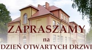 Zaproszenie do Zespołu Szkół w Niemcach na Dzień Otwartych Drzwi