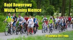 ZAPROSZENIE: na Rajd Rowerowy Wójta Gminy Niemce 2017