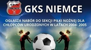 GKS Niemce nabór do sekcji piłki nożnej