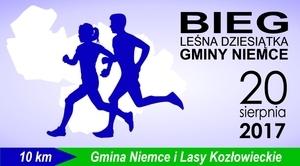 """Lista startowa Biegu """"Leśna dziesiątka Gminy Niemce"""" zamknięta."""