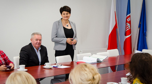Spotkanie Zespołu Interdyscyplinarnego w Urzędzie Gminy Niemce