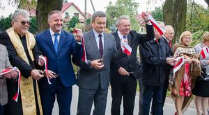 Oficjalne otwarcie gruntownie przebudowanej trasy z Ciecierzyna do Pólka