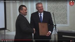 Reportaż filmowy z Forum Przedsiębiorców Polska - Ukraina
