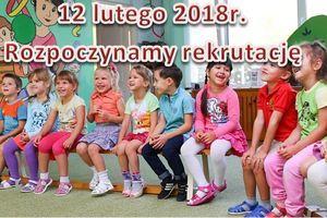 Uwaga Rodzice! Rekrutacja do przedszkoli i oddziałów przedszkolnych.