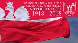 100 flag na 100-lecie Odzyskania Niepodległości przez Polskę