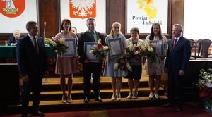 Nagrody Zarządu Powiatu za osiągnięcia sportowe i artystyczne przyznane