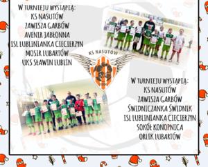 Zaproszenie: na II Turniej Mikołajkowy Nasutów Junior CUP 2018