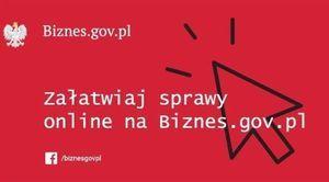 Załatwiaj sprawy online na Biznes.gov.pl
