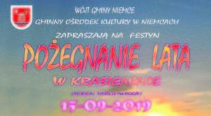 ZAPROSZENIE: na festyn Pożegnanie Lata w Krasieninie
