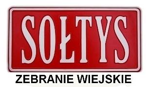 Zaproszenie zebranie sołeckie w Dysie - 14.09.2019