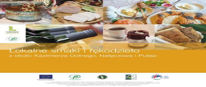 """Katalog produktów lokalnych LGD """"Zielony Pierscień"""""""