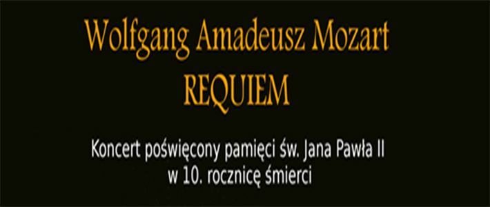 Koncert poświęcony pamięci św. Jana Pawła II w 10. rocznicę Jego śmierc