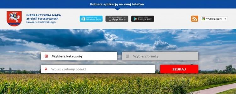 Aplikacja turystyczna Powiatu Puławskiego