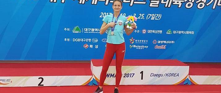Danuta Woszczek Wicemistrzynią Świata w biegu na 3000 m.