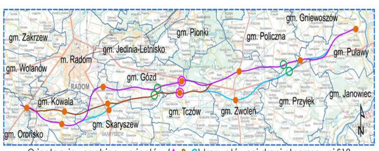 Budowa drogi ekspresowej S12 na terenie Gminy Puławy