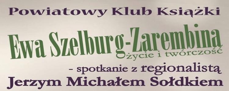 Nałęczów we wspomnieniach Ewy Szelburg-Zarembiny