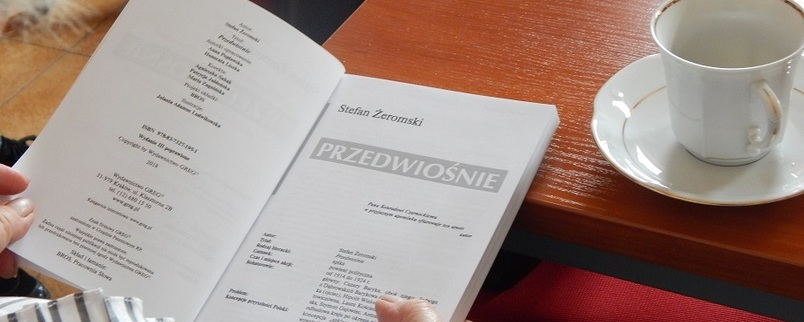 """Powiatowy Klub Książki czytał """"Przedwiośnie"""""""