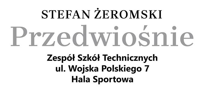 """Narodowe Czytanie """"Przedwiośnia"""" w  Zespole Szkół Technicznych w Puławach"""