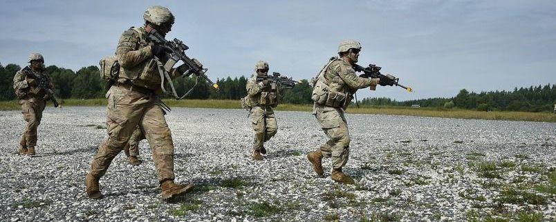 Szkolenie żołnierzy 22 Batalionu Lekkiej Piechoty z Dęblina