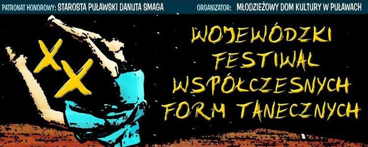 Wojewódzki Festiwal Współczesnych Form Tanecznych