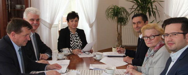 Spotkanie z przedstawicielami Miasta Puławy