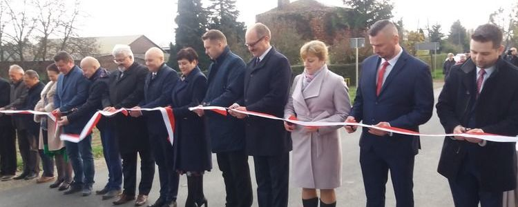 Uroczyste otwarcie drogi powiatowej nr 2534L Kurów - Karmanowice