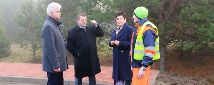 Trwa remont drogi powiatowej nr 1437L Niebrzegów – DW 845