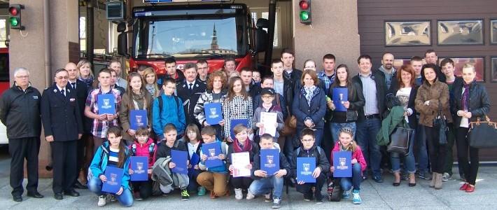 Młodzież zapobiega pożarom – Ogólnopolski Turniej Wiedzy Pożarniczej