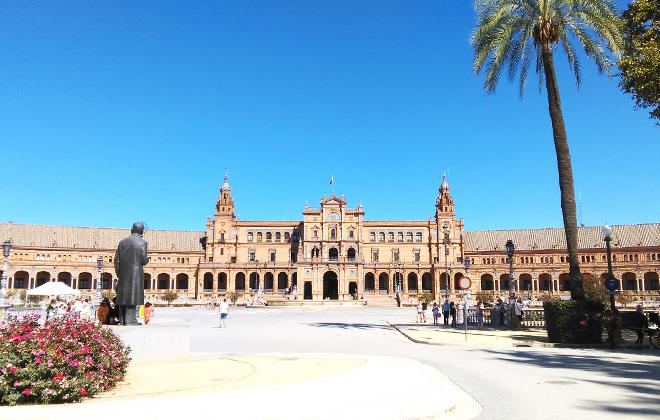 Uczniowie z ZSZ nr 1 w Dęblinie na stażu w Hiszpanii