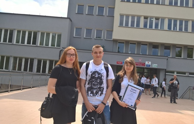 Uczennica z ZSZ 2 w Rykach wygrała konkurs Przystanek Europa