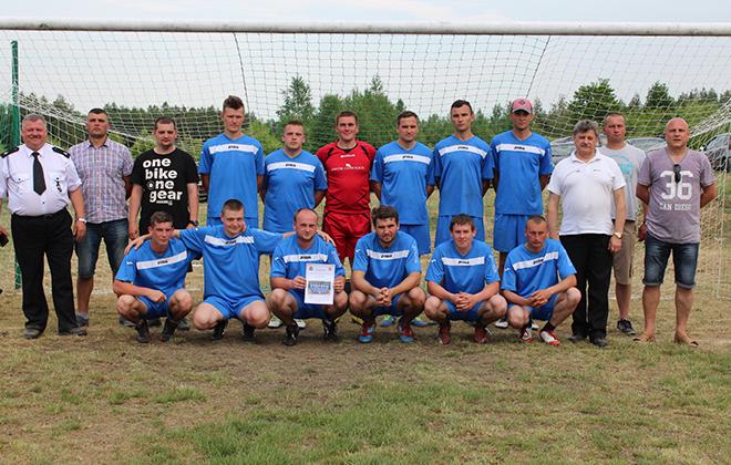 VIII Powiatowy Turniej Piłki Nożnej Drużyn Strażackich o Puchar Starosty Ryckiego- Nowodwór 4 czerwca 2017r.