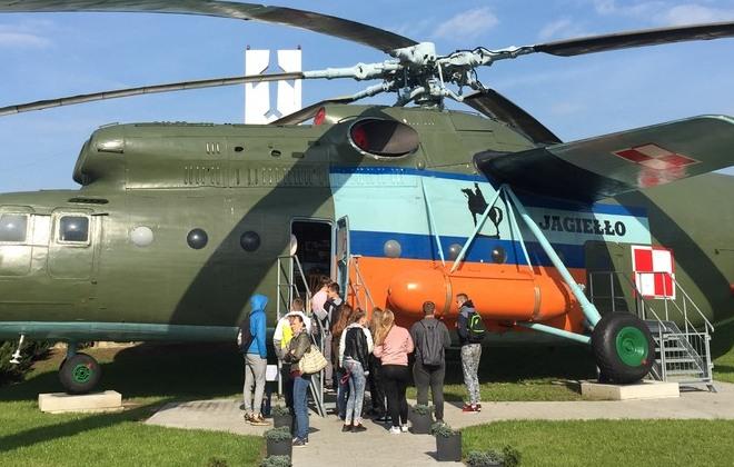 Wycieczka do Muzeum Sił Powietrznych