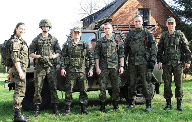 IV Manewry Gimnazjalistów i zgrupowanie klas mundurowych