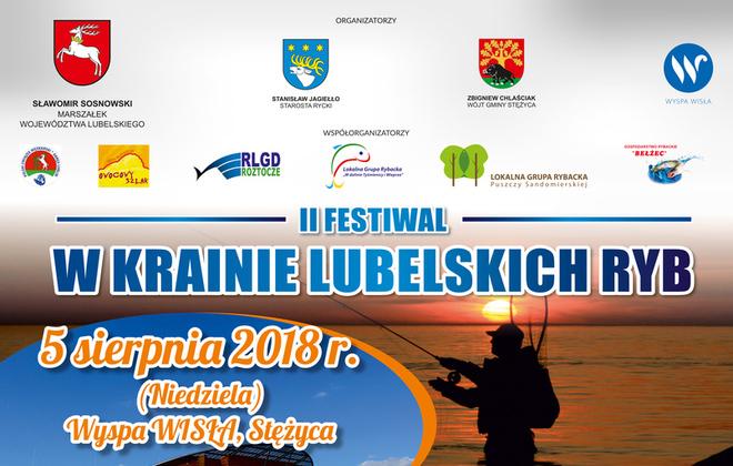 """Na ryby do Stężycy – Festiwal """"W krainie lubelskich ryb"""""""