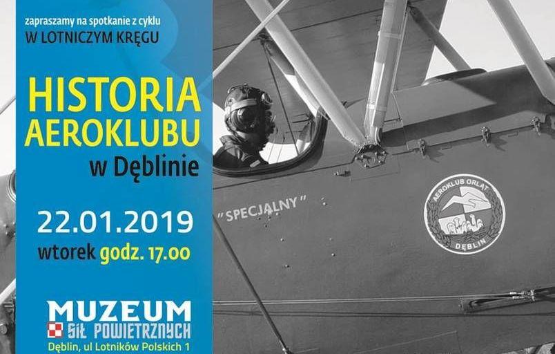 Zaproszenie: poznaj historię Aeroklubu Orląt w Dęblinie