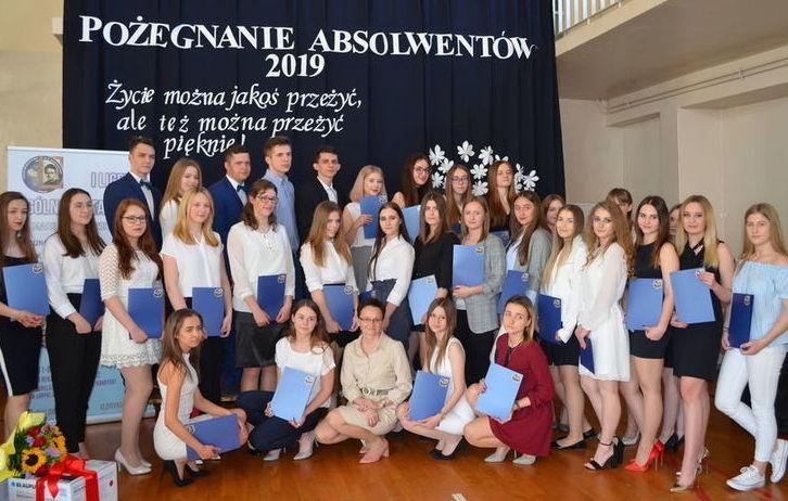 Zakończenie roku szkolnego maturzystów 2018/2019