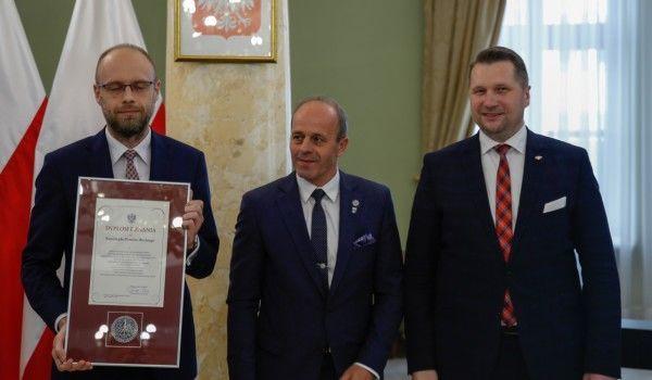 Samorząd Powiatu Ryckiego uhonorowany za działania na rzecz ochrony instytucji rodziny